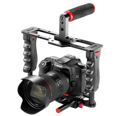 Neewer Photo Film Movie Making Camera Video Cage Kit with Top Handle Grip