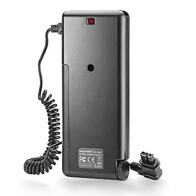 Neewer External Battery Pack Replacement for Canon Speedlite Flash 600EX MT@9