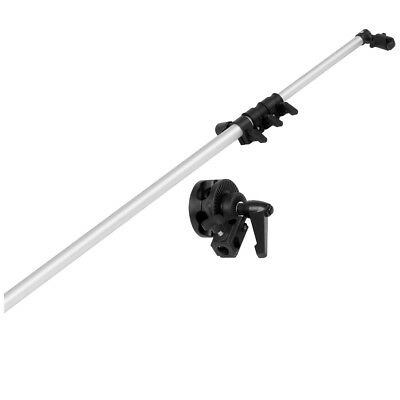 "Neewer 30""-70"" Collapsible Studio Swivel Head Reflector Arm Support Silver MT@9"