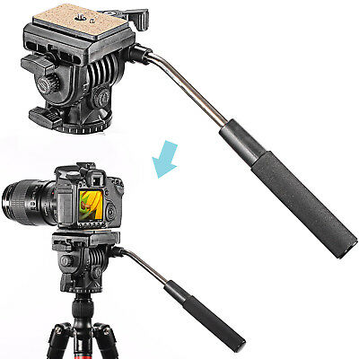 Neewer Photo Fluid Video Head Camera Head for Canon Nikon DSLR Camera MT@9