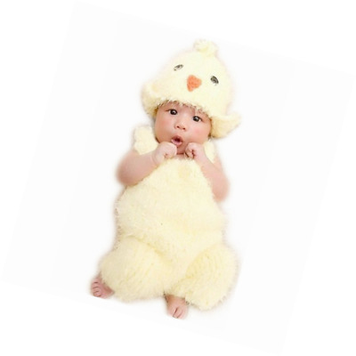 Vemonllas Hand Knitting Newborn Boy Girl Outfits Baby Photography Props Crochet