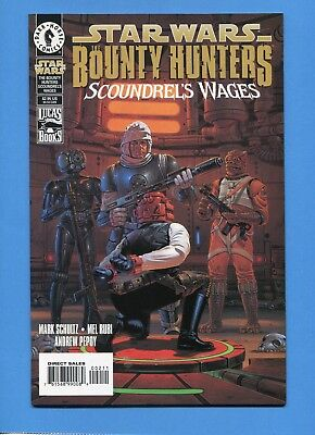 Star Wars Bounty Hunters Scoundrels Wages Comic Book Dark Horse Vf / Nm
