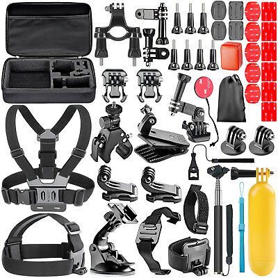 Neewer 44-in-1 Action Camera Accessory Kit for GoPro Hero 4 5 Session 3+ 3 2 1
