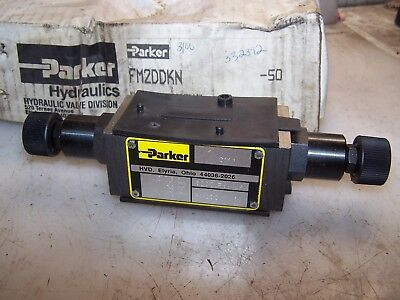 New Parker Hydraulic Directional Control Valve 5000 Psi Fm2Ddkn-50