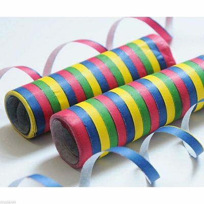 Multi-coloured paper party streamers- Various pack sizes avalible