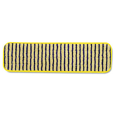 Rubbermaid Commercial Microfiber Scrubber Pad Vertical Polyprolene Stripes 18""