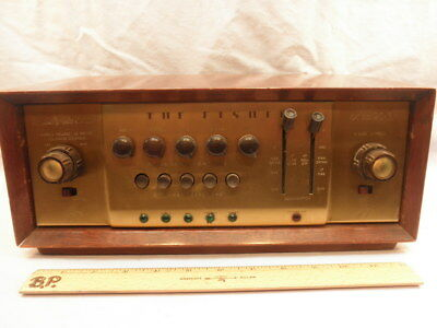 Excellent Vintage 1958 Fisher 90-C Master Audio Control -Recapped and Working-NR