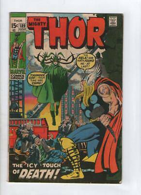 Marvel Comics The Mighty Thor #189 June  1971  15c USA