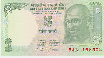 India banknote five rupees 2010*