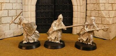 WARRIORS OF THE DEAD - Lord Of The Rings 3 Metal Figure(s)