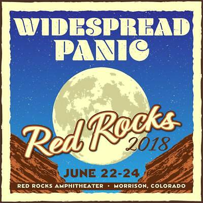 Widespread Panic Red Rocks Charity Auction - Saturday 6/23