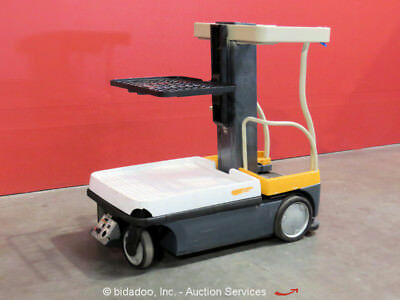 Crown WAV50-118 16' Electric Mast Lift Personnel Manlift Aerial Stock Picker 24V