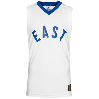 adidas All Star East NBA Basketball Trikot Sport Tank Top S95306 Gr. XS weiß neu