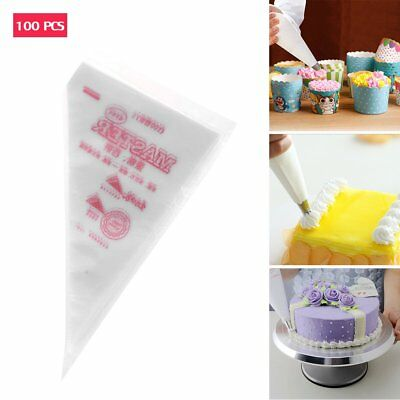 Extra Strong Large PE Plastic Disposable Piping Pastry Bags Decorating Tool