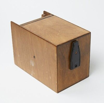 "Lensless Camera Mfg Standard 6"" Wooden Pinhole 4X5 Camera #b6201"