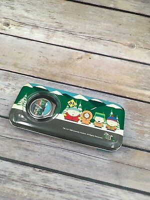 1998 South Park Watch by Comedy Central, Black Band Tin