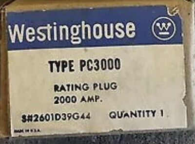 Westinghouse Pc3000 2000Amp Rating Plug *new In Box*