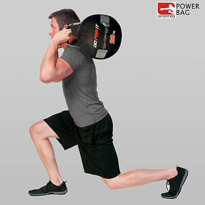 Sporteq Powerbag Weighted Training Sand Bag Fitness Gym Weight Lifting Crossfit
