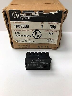 Ge Tr8S300 Rating Plug *new In Box*