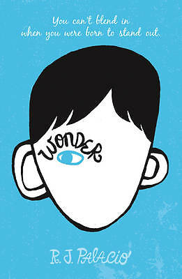 Wonder by R. J. Palacio (English)  - Paperback - Free Shipping!