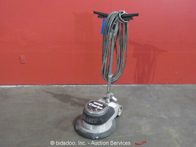 "Clarke FM1700 17"" Electric Floor Polisher Burnisher 20' Power Cord 175 RPM 120V"