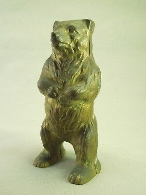 Standing Grizzly Brown Bear Vintage Bank