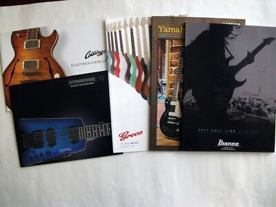 Japan Guitar Catalog Set of 5 Collings STEINBERGER GRECO YAMAHA Ibanez