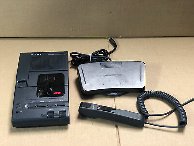 Sony Microcassette Transcriber M-2000 (NO Power Adapter)