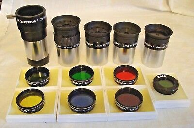 "Celestron 1.25"" Eyepiece & Filter 12 piece Set"