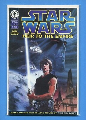 STAR WARS HEIR TO THE EMPIRE # 1 COMIC BOOK DARK HORSE VF / NM Very Fine to MINT