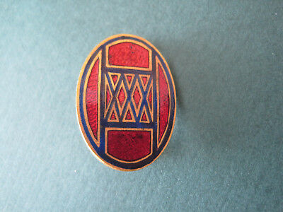 WWII US Army 30th Infantry Division DI DUI unit crest insignia pin