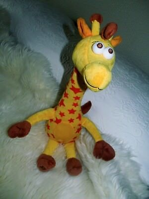 EUC Boutique Toys R Us Giraffe Geoffrey 17 Inches Tall Stuffed Collectable Toy