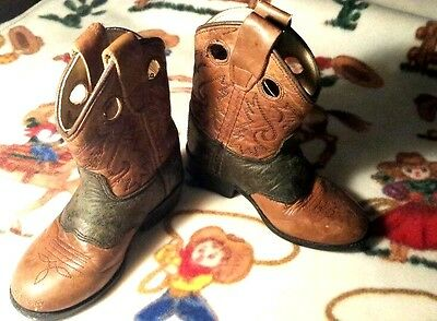 Toddler Cowboy Boots Size 5 Western Decor Distressed Jama