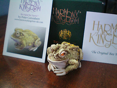 Harmony Kingdom Thoughtful Prince Frog HARD BODY Similiar to Princely Thoughts