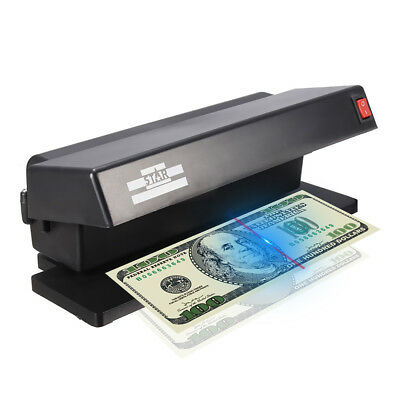 Portable Professional UV Light Money Banknote Detector Bill Currency Tool Test