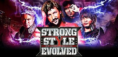 NJPW Strong Style Evolved Long Beach 3/25/18 - 2 Tickets - Sec 107 Row T