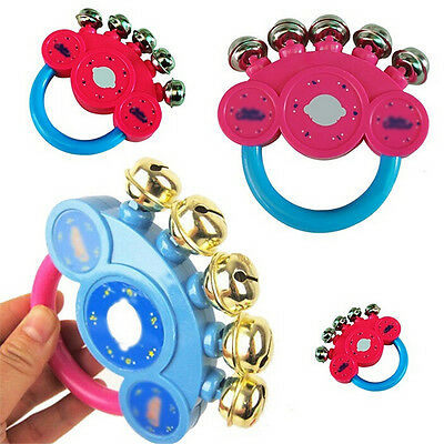 Baby Children Kids Rattle Handbells Developmental Toys Hand Shaking Bell  Better