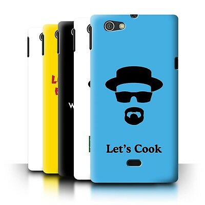 Phone Case/Back Cover for Sony Xperia Miro/ST23I /Breaking Bad Inspired Art