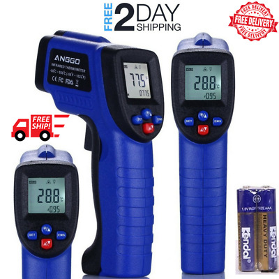 Temperature Gun Non-contact Infrared IR Laser Digital Thermometer FDA Approved