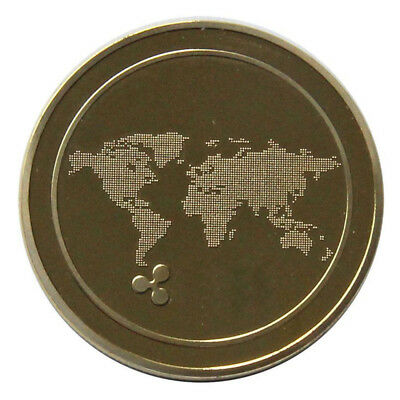 Ripple Badge Ripple Coins Ripple Toy Non-Currency Coins Gifts Commemorative