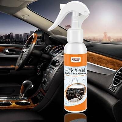 Interior Quick Cleaner Car Surfaces Plastics Leather Metal Rubber With Towel