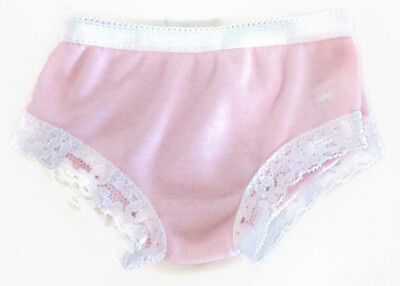 "Pink Cotton Knit Panty made for 18"" American Girl Doll Clothes Accessory"