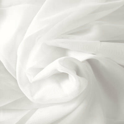 """100% PURE COTTON WHITE PLAIN FABRIC HUGE 44"""" wide BY THE METRE, CRAFT, QUILTING"""