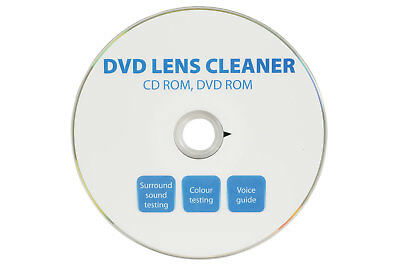 how to clean dvd player lens