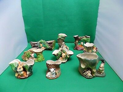 Hornsea Fauna Collection of 9 Figurines
