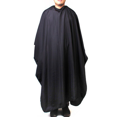 Salon Hairdressing Cutting Gown Shampoo Hair Cape Cover Apron Cape Black