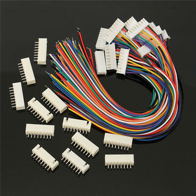 10PCS 7S1P Balance Charger Silicon Cable Wire JST XH Connector Adapter Plug HOT