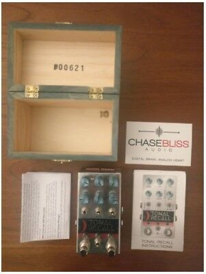 Chase Bliss Audio Tonal Recall Delay Guitar Pedal