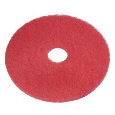 "Pro Link 10"" Red Buff Pad Case of 5"