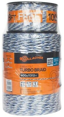 NEW Gallagher G62148 Turbo Braid for Portable Electric Fencing